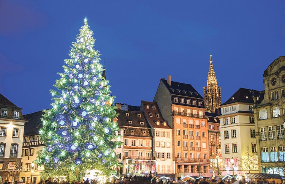 Ursprung Weihnachtsbaum.Der Baum Der Bäckerknechte