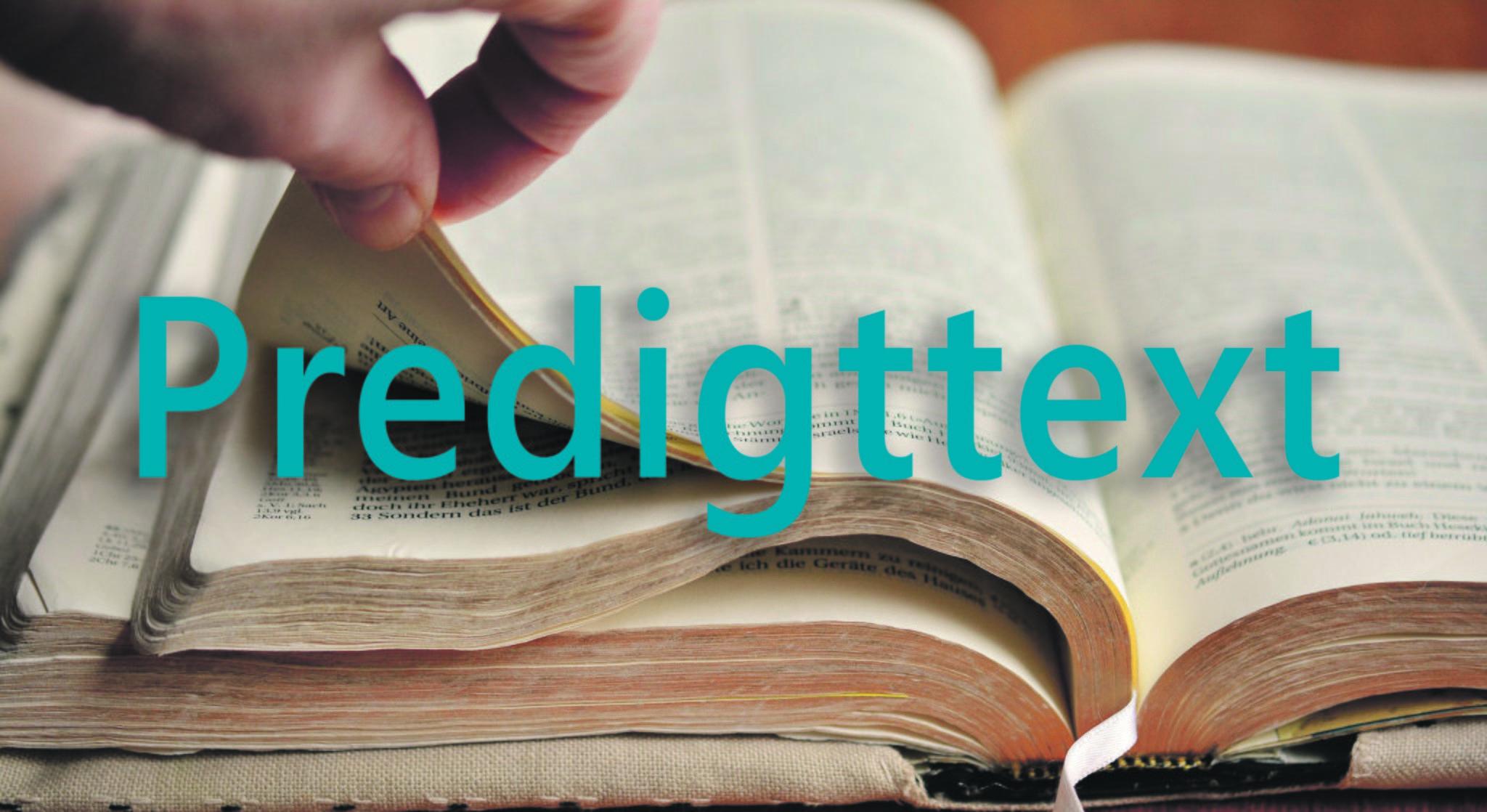 Predigttext